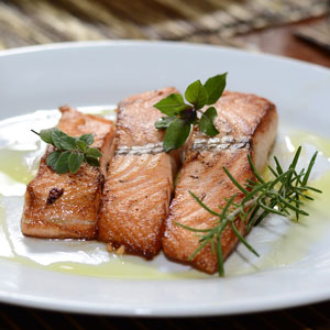 Salmon Oil Free Fryer Easy And Quick Recipe